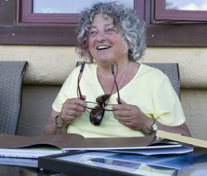 Ellen Zimmerman receives distinguished service gifts and recognition at Wildsight AGM, Invermere, BC